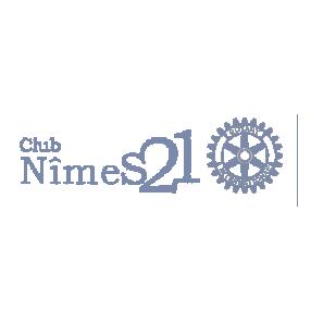 logo club nimes 21 rotary