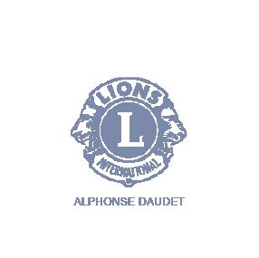 logo lion club nimes alphonse daudet